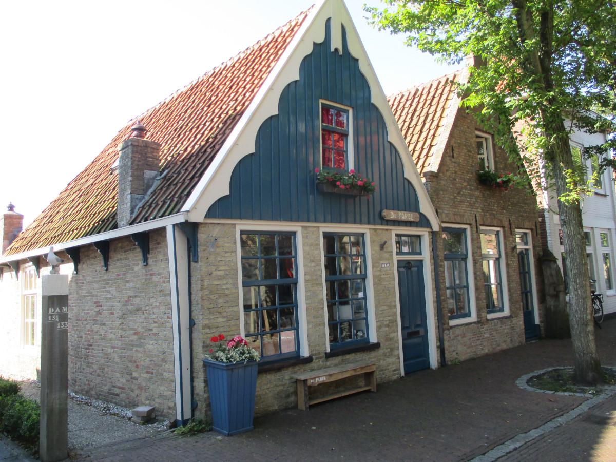 Schmuckes Vlieland-Haus