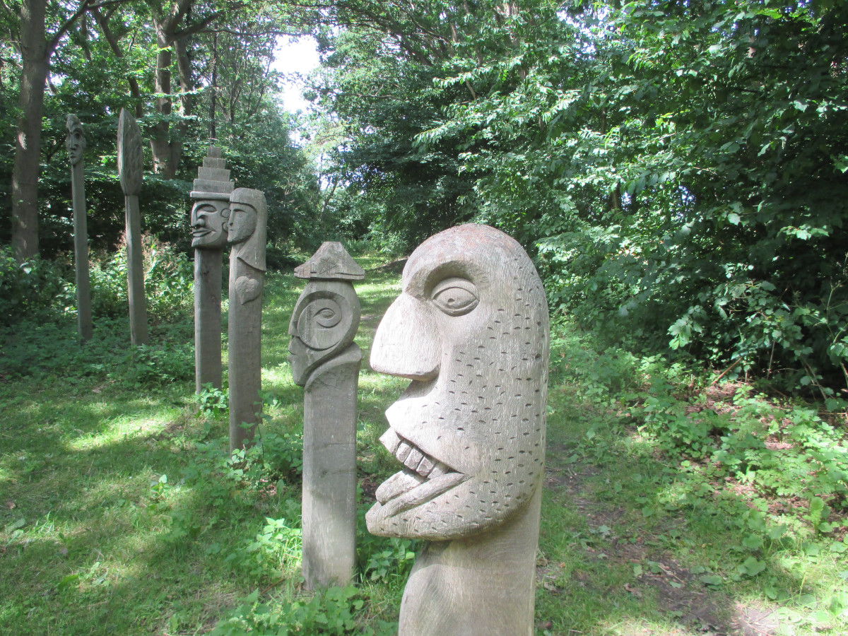 Kunst bei der Villa Blomberg