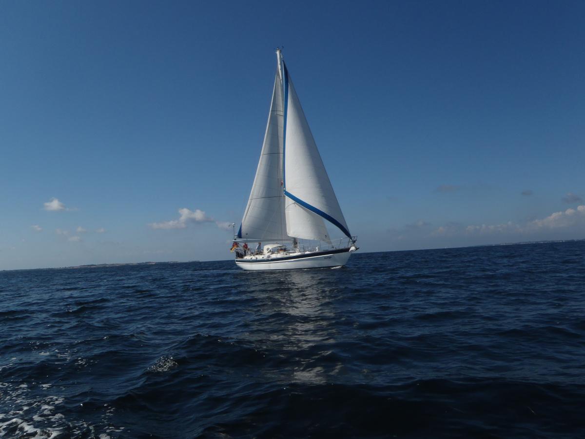 Auriga auf der Ostsee