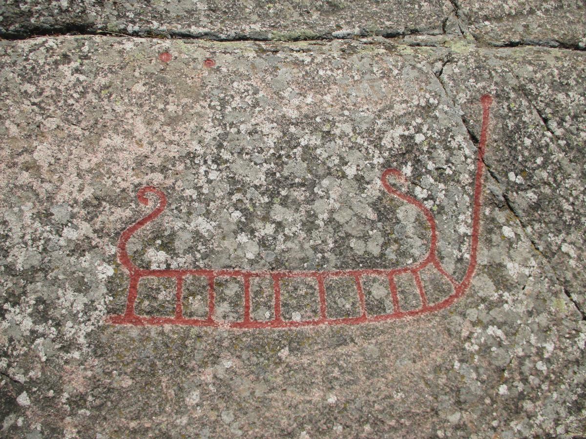 Madsebakke - steinzeitliche Felszeichnungen