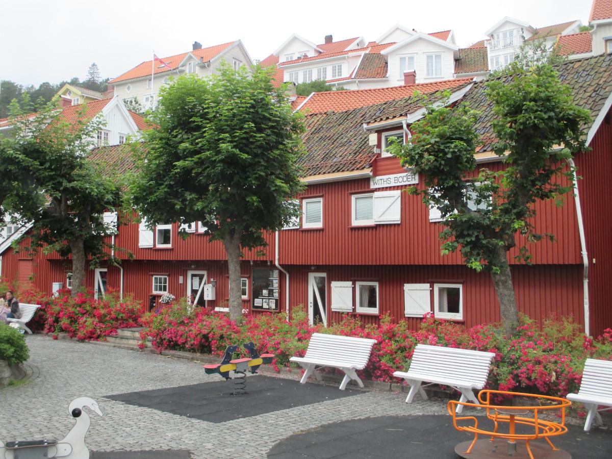 Kragerö (noch vor dem Regen)