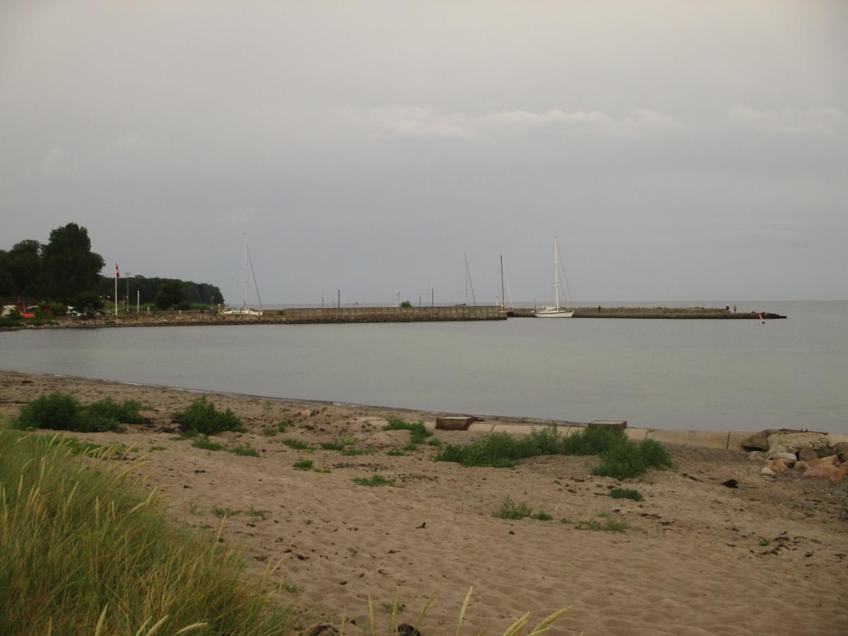 Hafen von Hesnæs