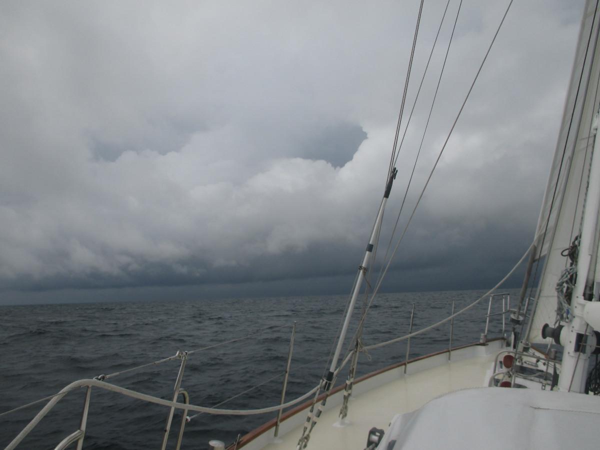 Böse böse Gewitterwolken