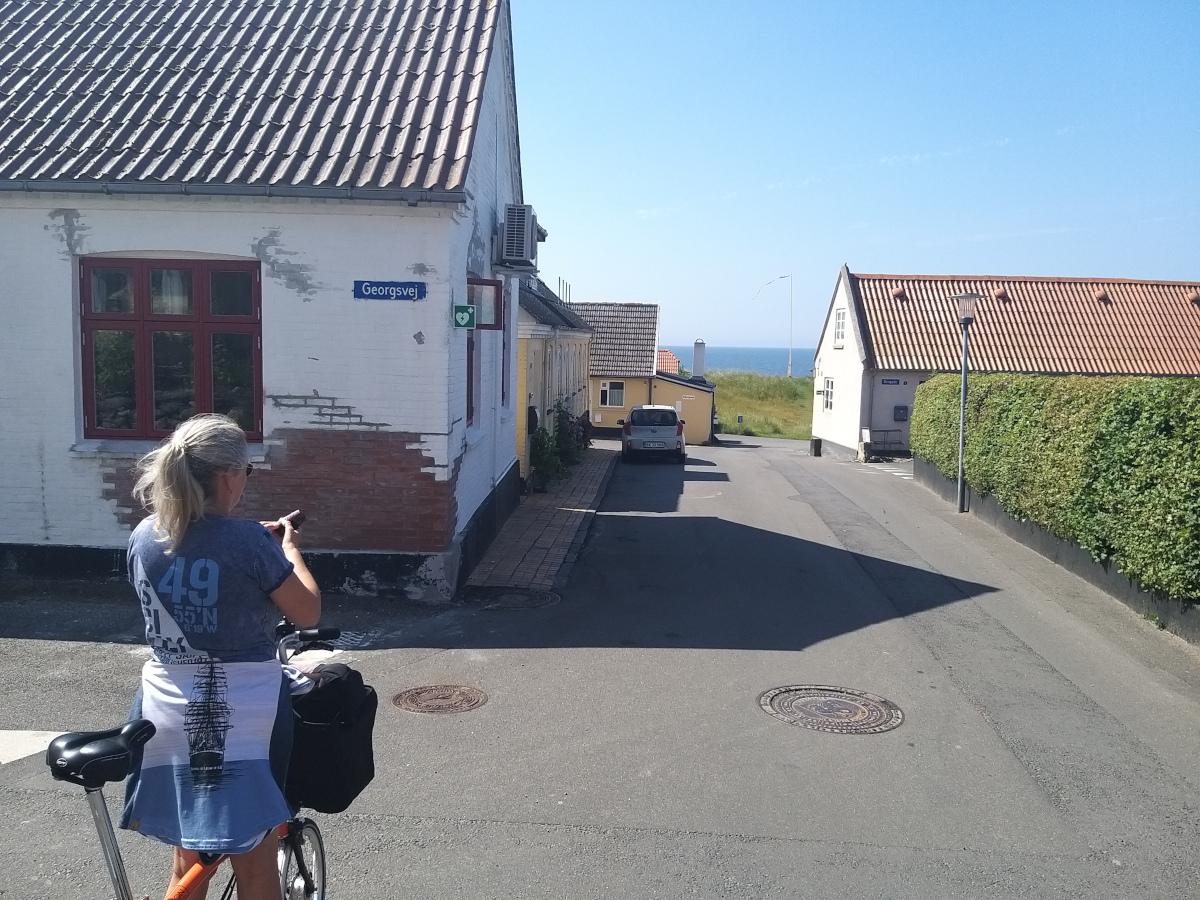 Radtour bei Rønne