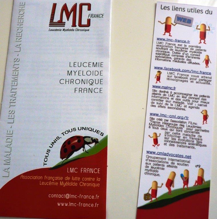 Le marque-page des liens utiles LMC (verso)