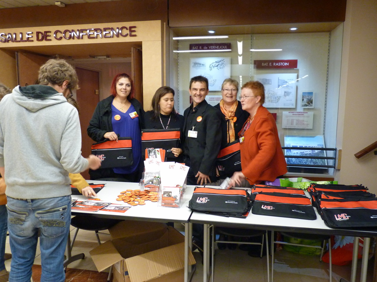 Stand LMC France - Journée Patients FI LMC à Marseillle