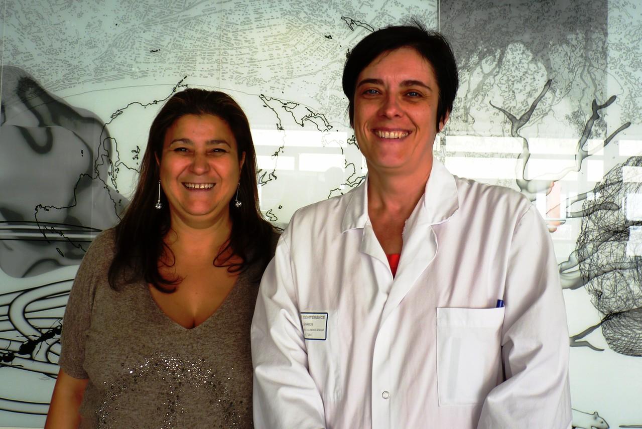 Mina Daban et le Doc Laurence Legros