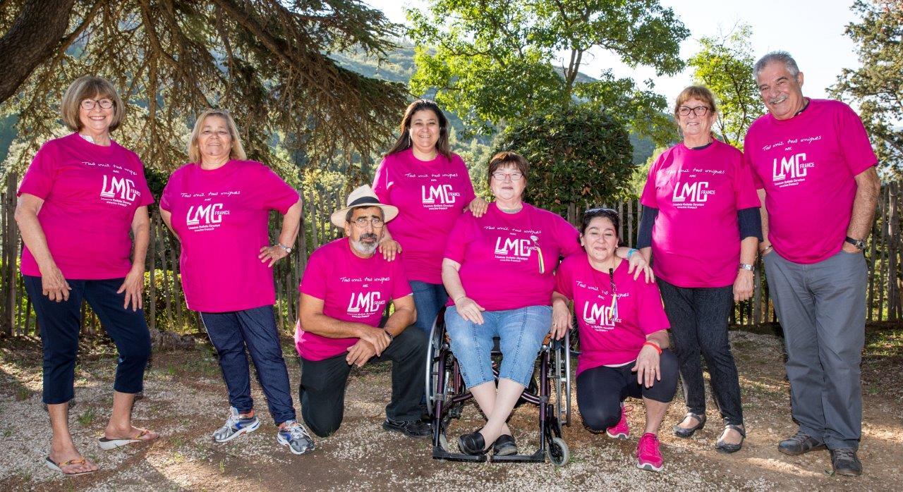 Les bénévoles LMC France