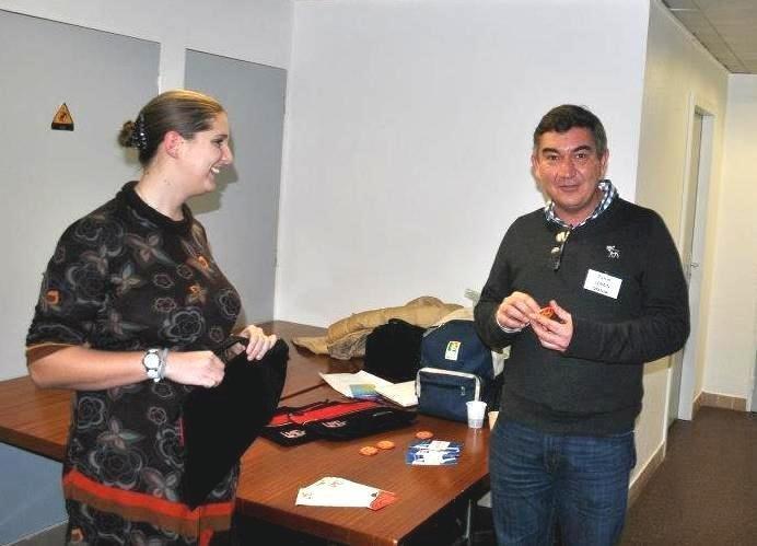 Journée patient Fi LMC - Rouen avec Adèle Guiffard