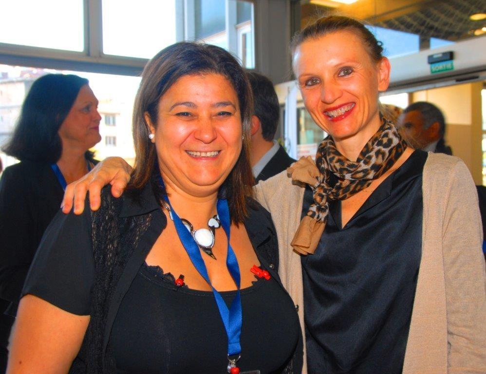 Mina Daban et Docteur Aude Charbonnier, hématologue