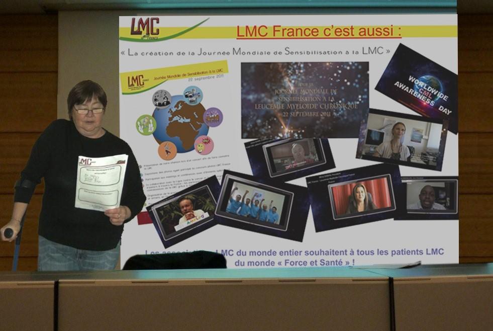 Paris, Bernadette MARCHAND - Relais LMC France