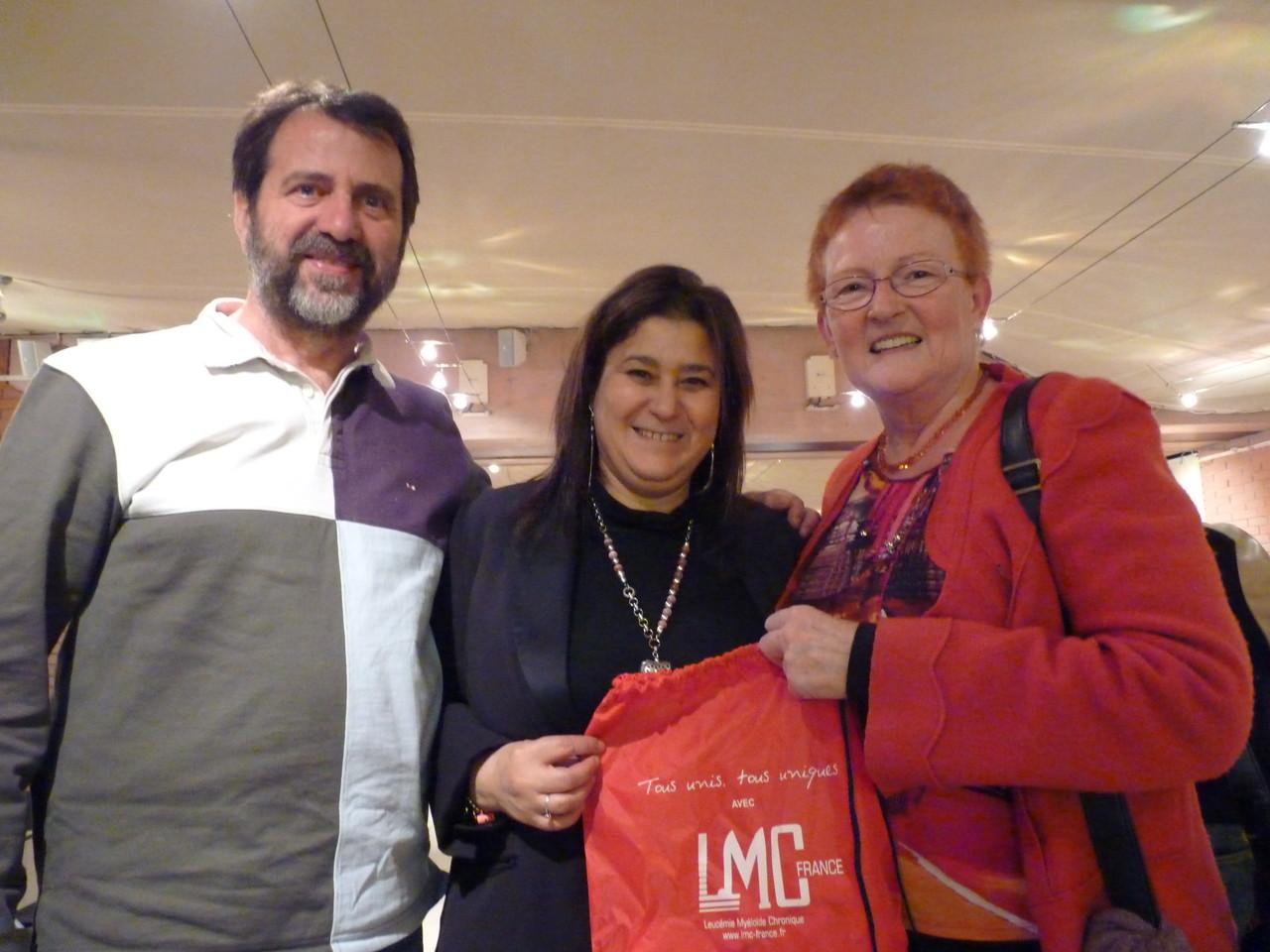 Jean-Paul, Mina et Monique PIALLAT à Marseille