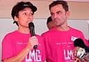 Stéphane Daban, Vice-Président LMC France et le Docteur Marie Jose Roméro