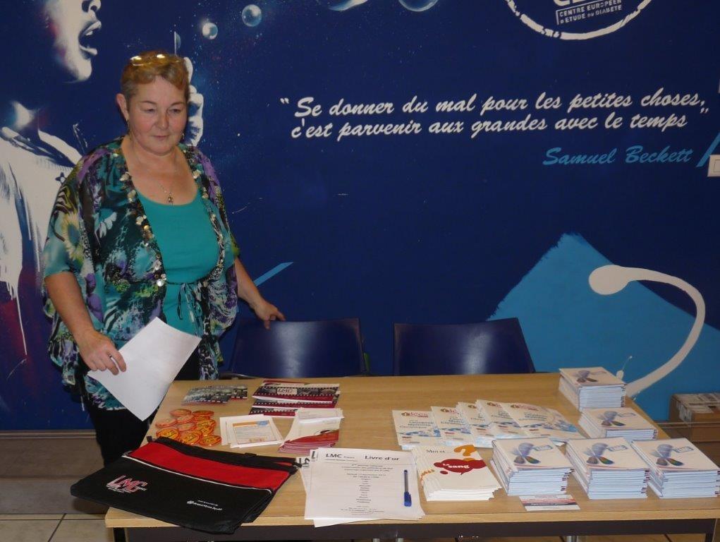 Journée patients Fi LMC - Strasbourg avec Francine Feix