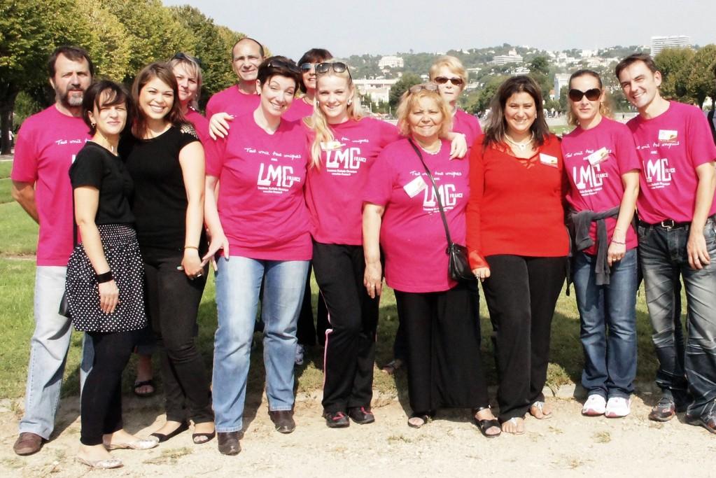 Une équipe de choc!équipe LMC france, rejoignez-nous pour le 23 septembre 2012