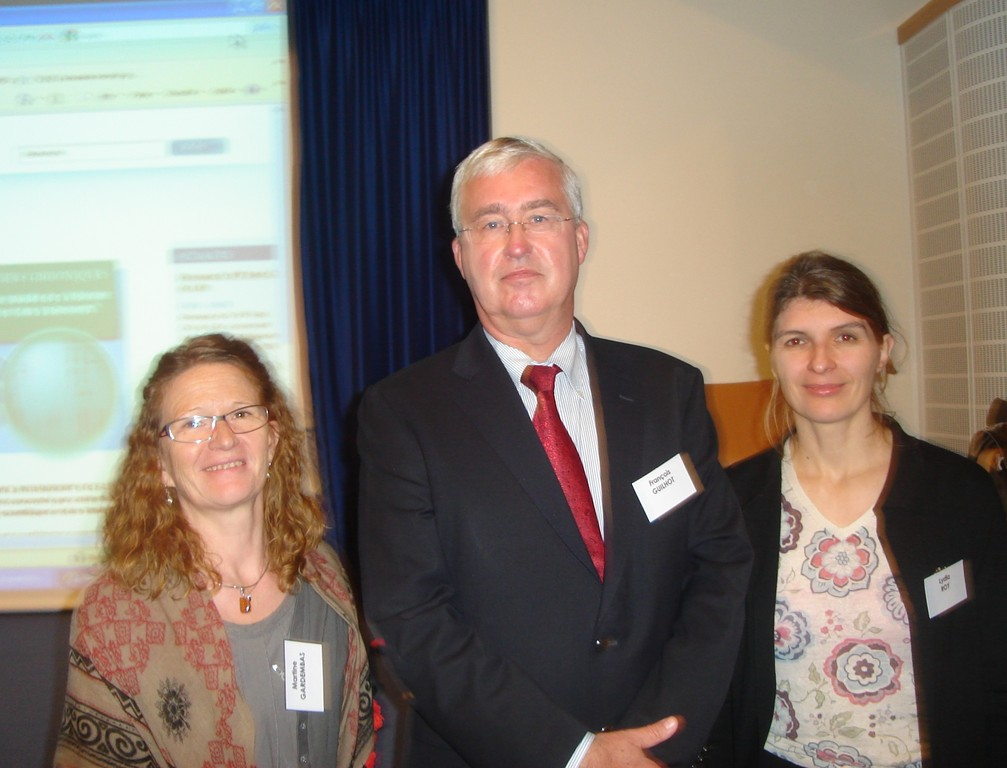 Poitiers : Dr Martine GARDEMBAS, Pr François GUILHOT, Dr Lydia ROY