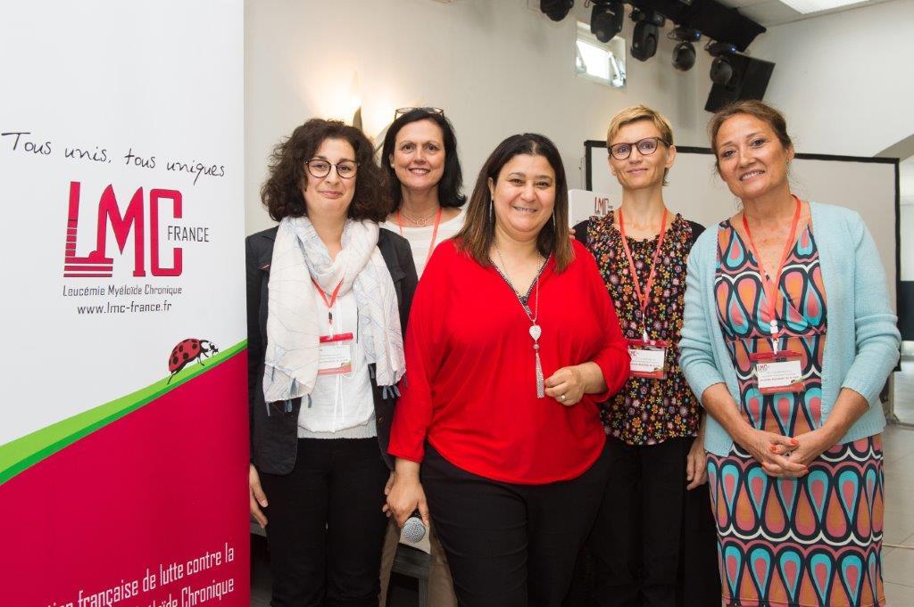 Hélène Hoarau, Marie Joelle Mozziconacci, Mina Daban, Aude Charbonnier, Yolande Arnaud