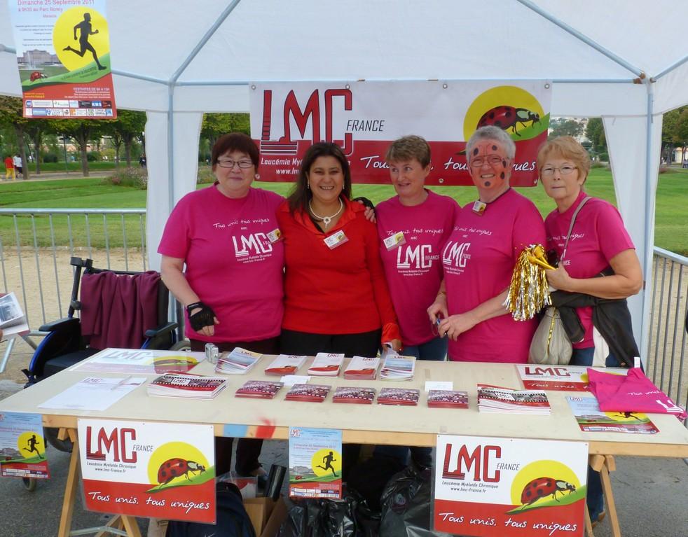 Les relais LMC France ont fait le déplacement pour soutenir LMC France dans son combat contre la leucémie !