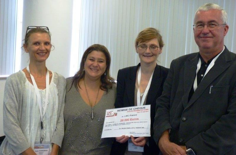 Dr.Aude Charbonnier, Mina Daban, Dr. Delphine Réa, Pr. François Guilhot