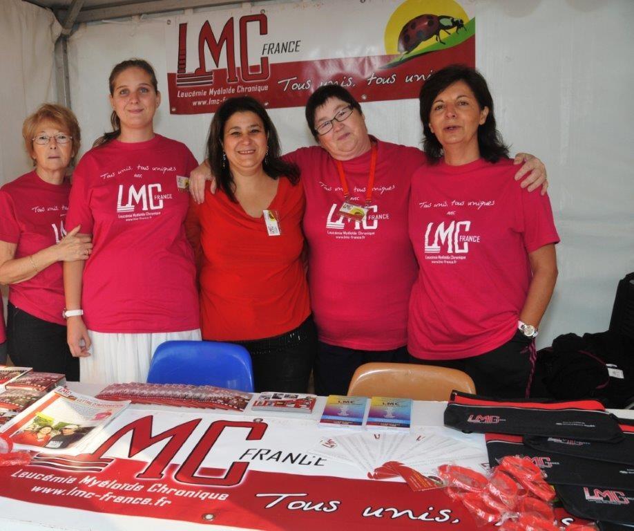 Course Tous unis, tous uniques, contre la leucémie 2012
