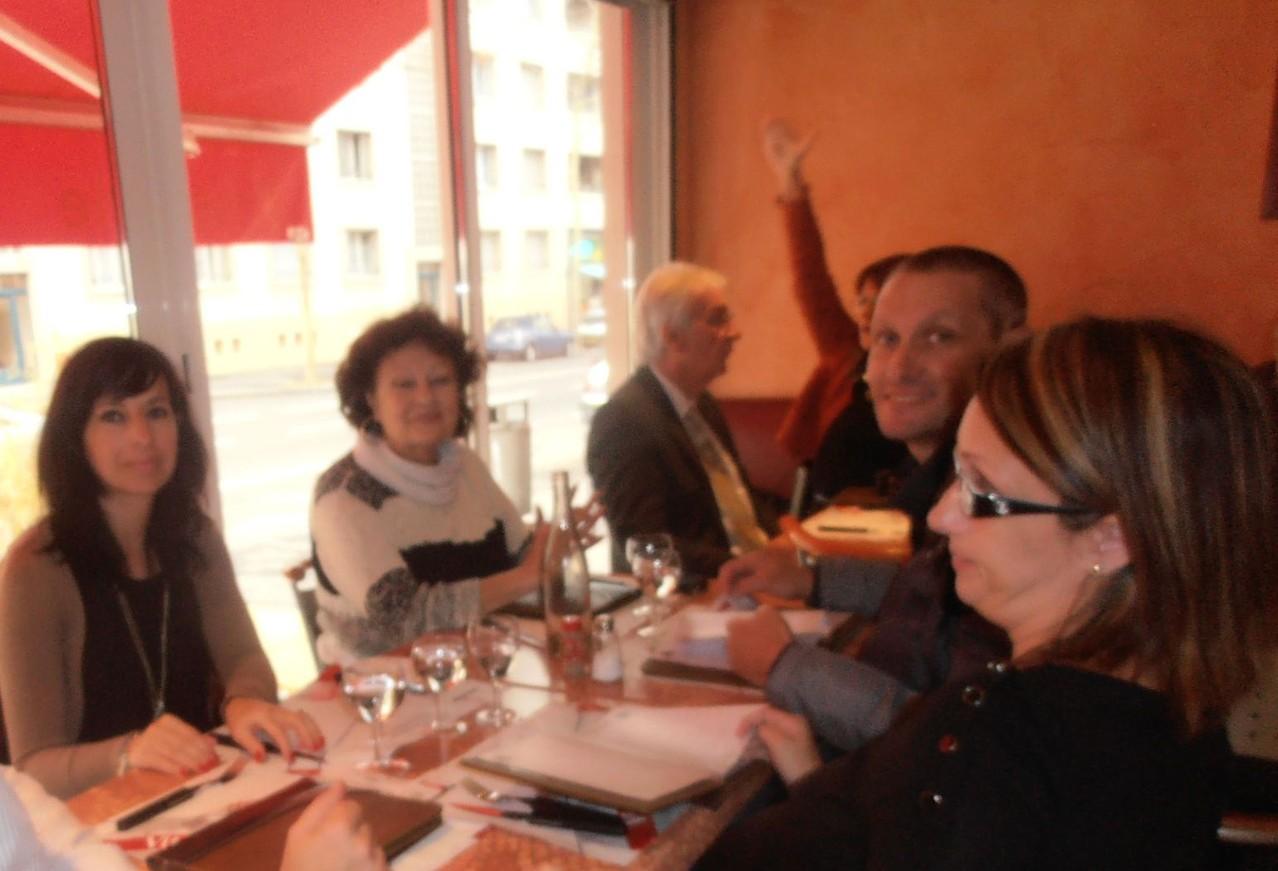 Repas LMC France à Lyon - Journée Patients Fi LMC à Lyon