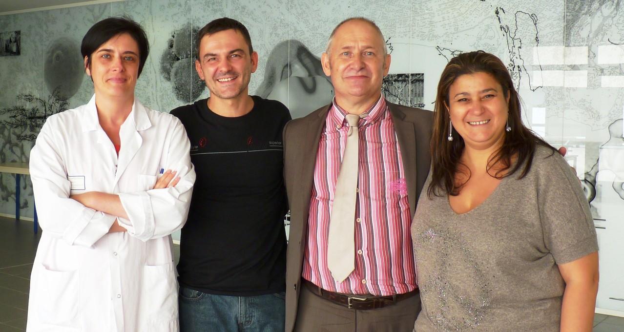 Doc Laurence Legros, Stéphane Daban, Doc Patrick Auberger, Mina Daban