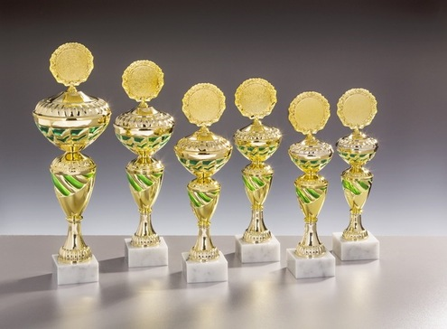 Pokalserie Helma, 6 Pokale 77,90 €
