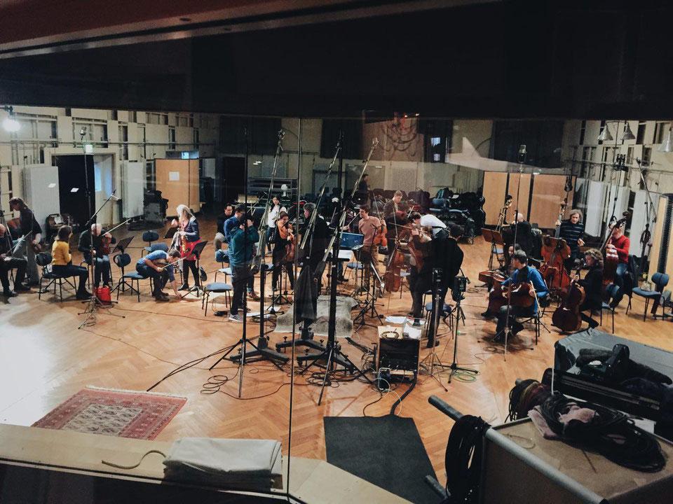 recording Ku'Damm 59 @Teldex Studio
