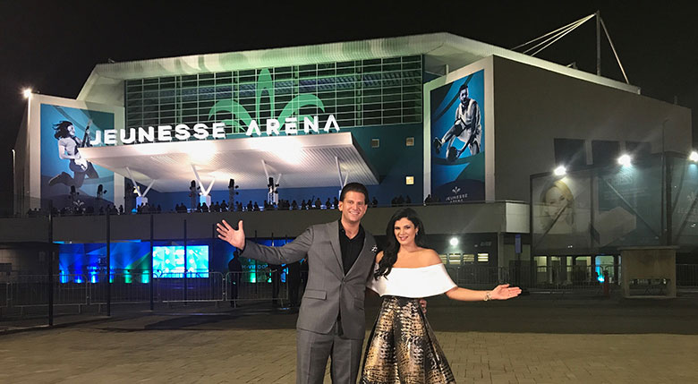 Компания Дженесс в Бразилии Арена, Jeunesse Arena, Jeunesse Global Arena Rio de Janeiro,