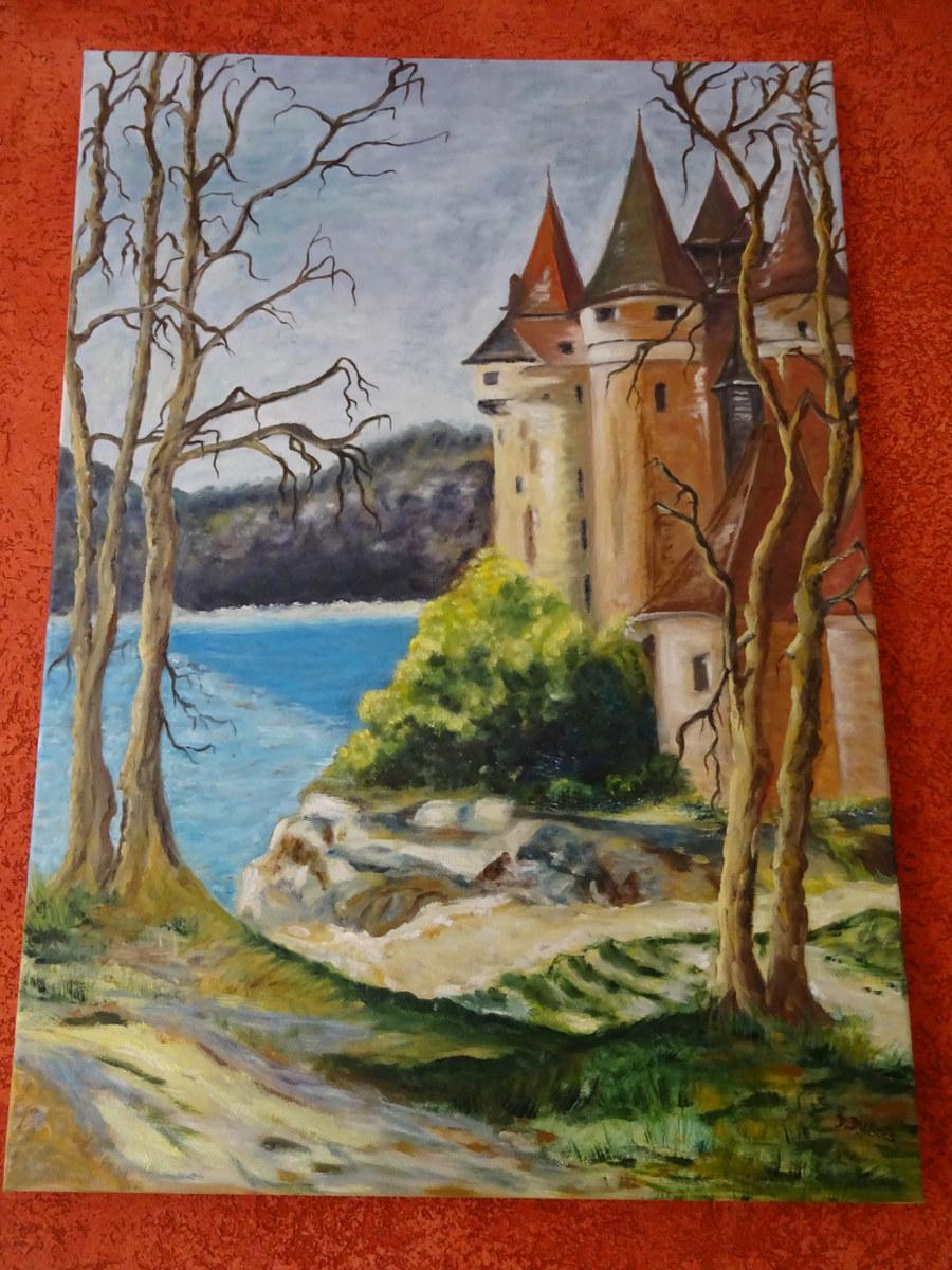 Chateau de bords les orgues