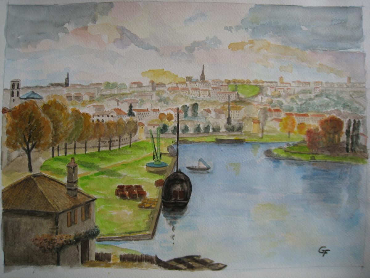 "Angoulême "" Gaston BOUCART 1927 """