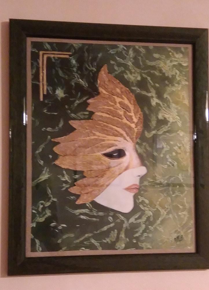 Masque de Venise - Techniques mixtes (interprétation)