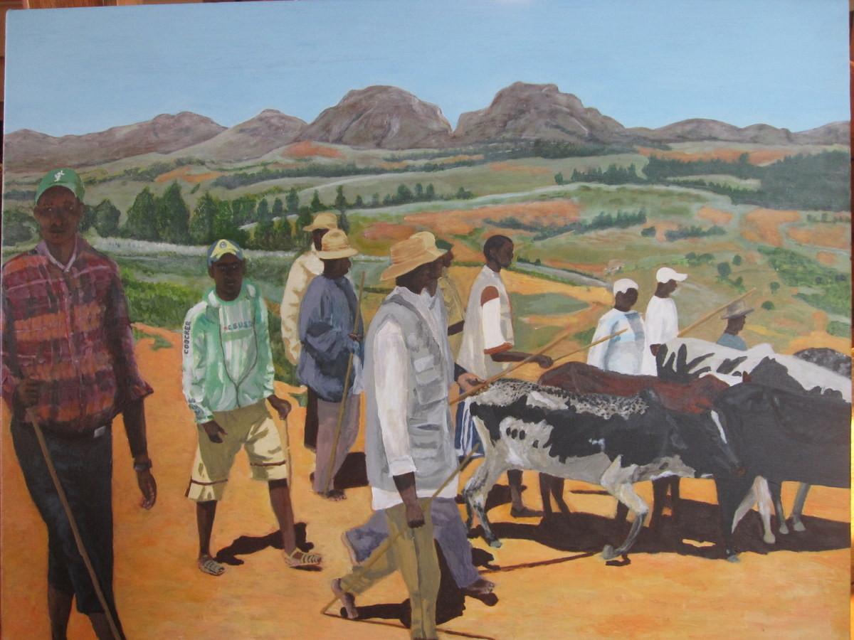 Marché aux zébus Ambalavao 05-12-2007