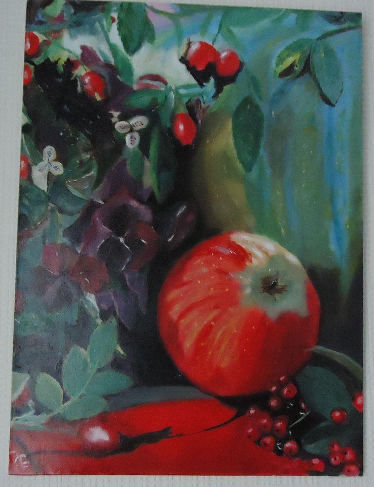 tableau La pomme rouge