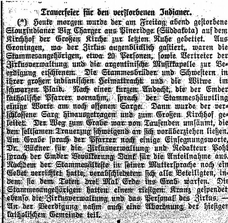 Stadtarchiv Emden ( Artikel in der Rhein Ems Zeitung vom 31.05.1932)