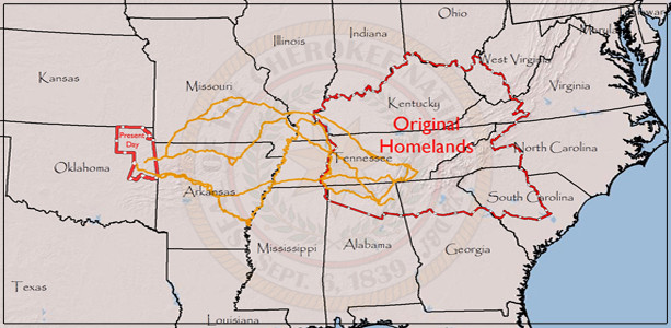 Cherokee Homelands
