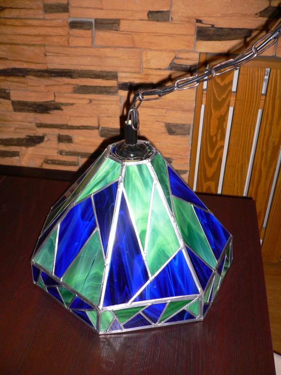 Lampenschirm-Bleiverglasung