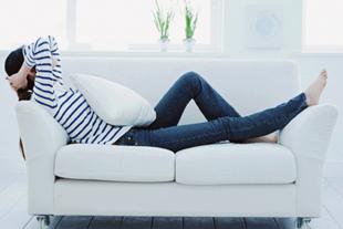 気分転換に最適なゆったりソファーあります
