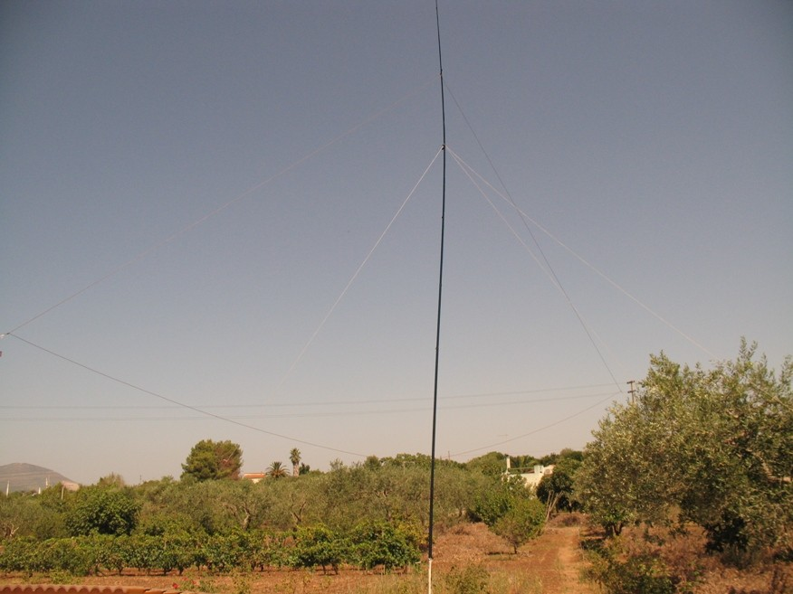 IS0/IZ0KRC - Vertical Antenna home made - photo '09