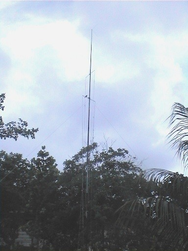 S79RC - Vertical Antenna multi band - made by IK0PRP - Sett. 2006