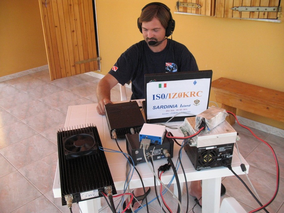 IS0/IZ0KRC - I'm during activation - photo '09