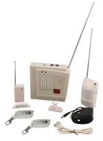 Centrale d'alarme avec capteurs