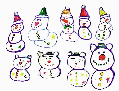 オーナメント(イラストレーターズクリスマスカードショー2008)