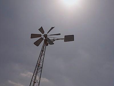 アウトレットモールの風車