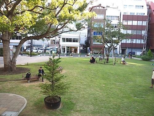 アートスペースの庭