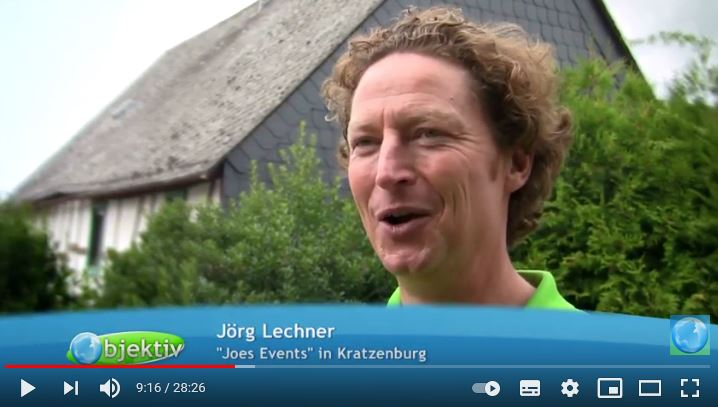 Als Lagerfeuer Koch bei objektiv - Menschen, Leben, Rheinland Pfalz
