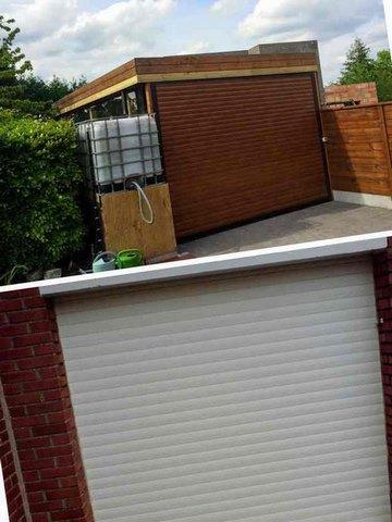réalisations portes de garage BR STORES à Dunkerque