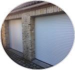 La porte de garage enroulable Porte de garage volet roulant