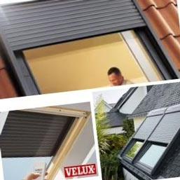 volet velux amazing volet roulant electr smlsk velux with volet velux volets roulants. Black Bedroom Furniture Sets. Home Design Ideas