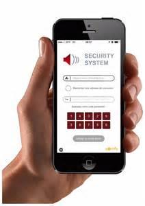 Application pour smartphone pour accédé et le pilotage de l'alarme
